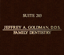 Dentist Office of Jeffrey A. Goldman, DDS